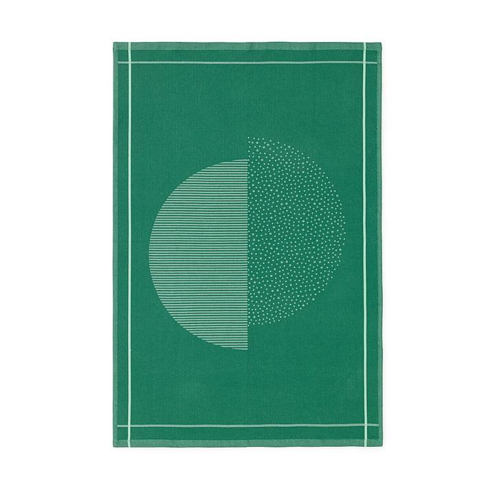 Normann Copenhagen - Illusion Tea Towel, green