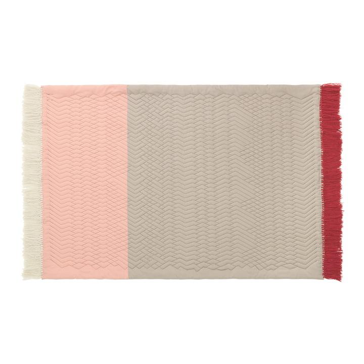 Normann Copenhagen - Trace Rug, pink / sand