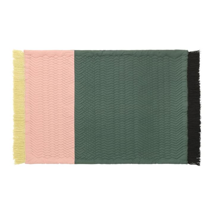 Normann Copenhagen - Trace Rug, dark green