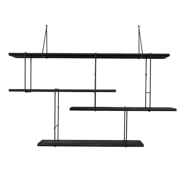 Studio Hausen - Link True Black setup 1, black / black oak