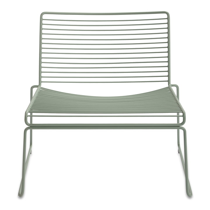 Hee Lounge Chair by Hay in Army