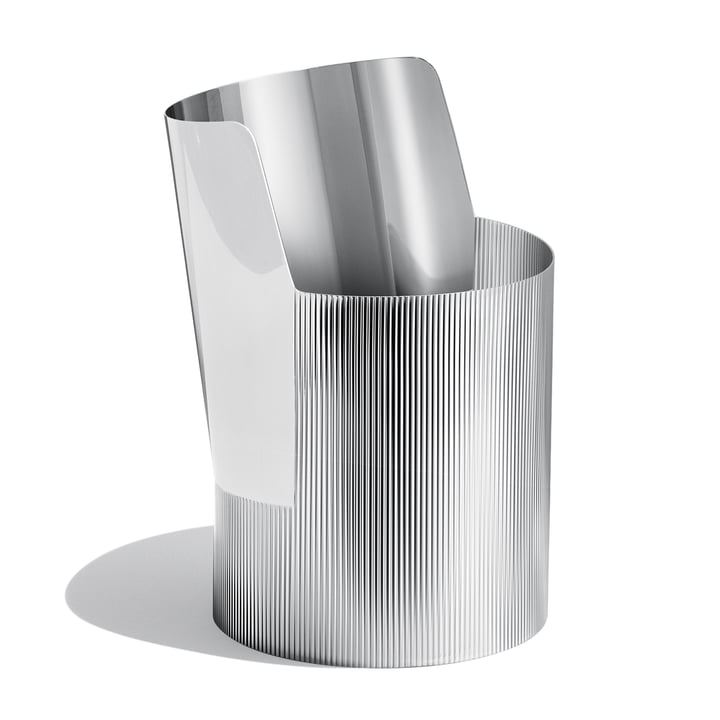 Georg Jensen - Urkiola Vase, Stainless Steel, large