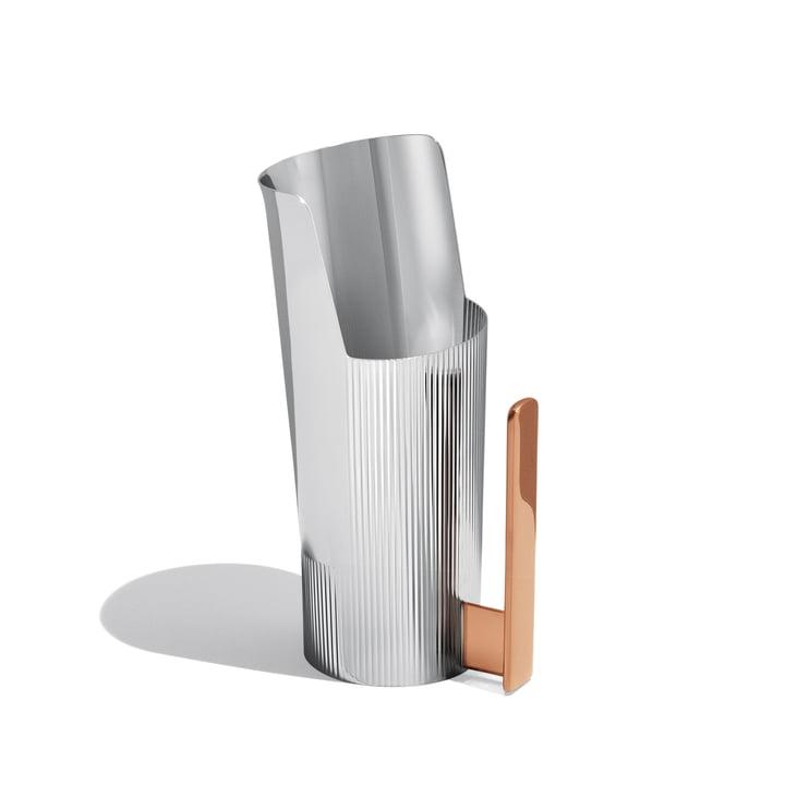 Georg Jensen - Urkiola Jug, stainless steel / PVD, 1 litre