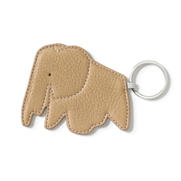 Key Ring Elephant by Vitra in natural