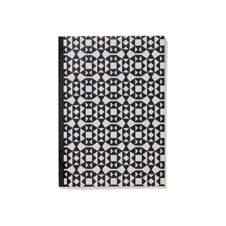 Facets A5 Softcover Notebook from Vitra in black