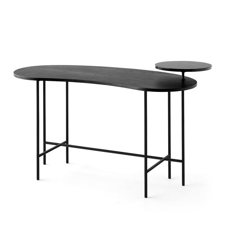 &tradition - Palette Table - JH9 in black ash / Nero Marquina