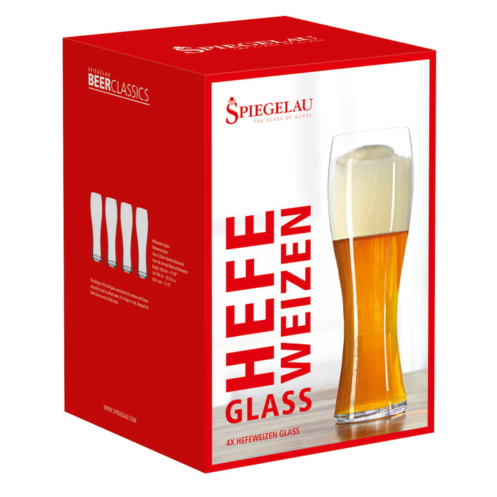 Wheat Beer Glass in the set of 4 from Spiegelau