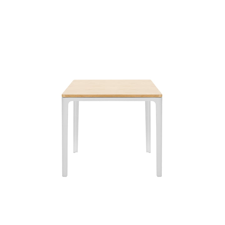 Vitra - Plate Table 370 x 400 x 400 mm, solid natural oak, oiled