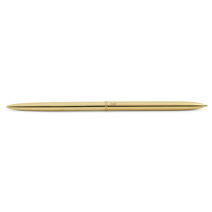 Bullet Pen in gold by Hay