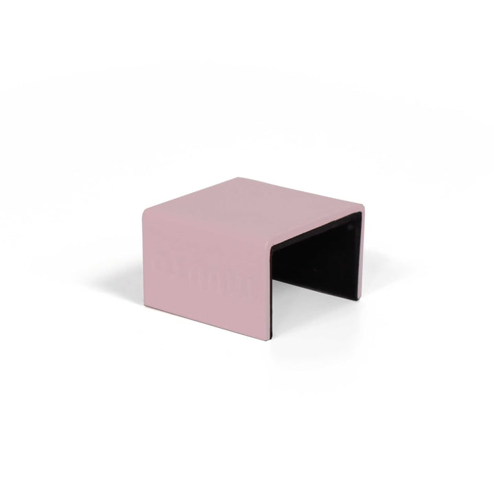 """Muuto - Brackets for """" Mini Stacked """" Shelf system, pink (set of 5)"""