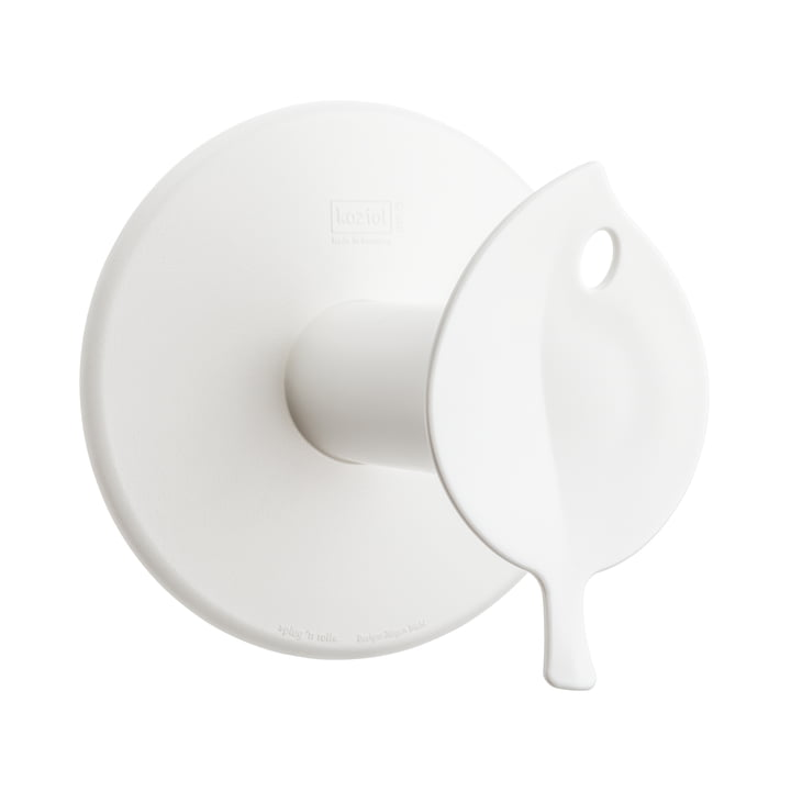 Sense Toilet Roll Holder by Koziol in white