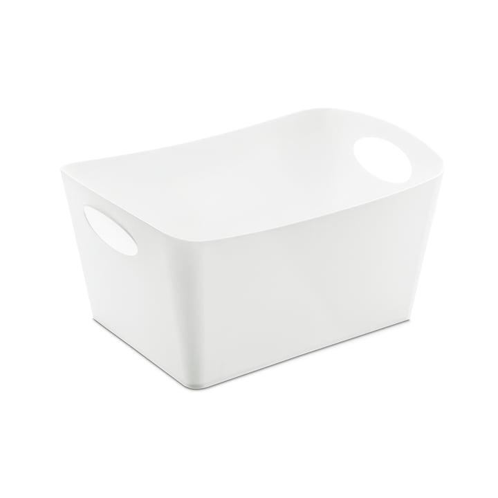 Boxxx M storage box by Koziol in white