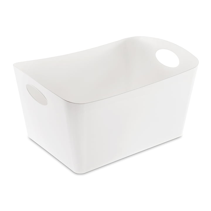 Boxxx L Storage box from Koziol in white