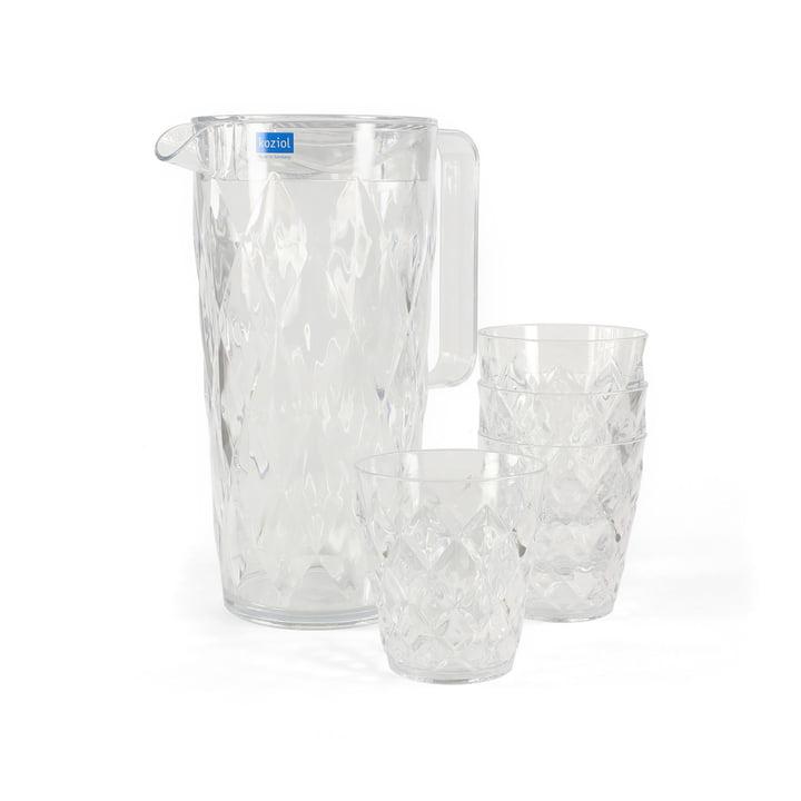 Koziol - Crystal offer set, clear