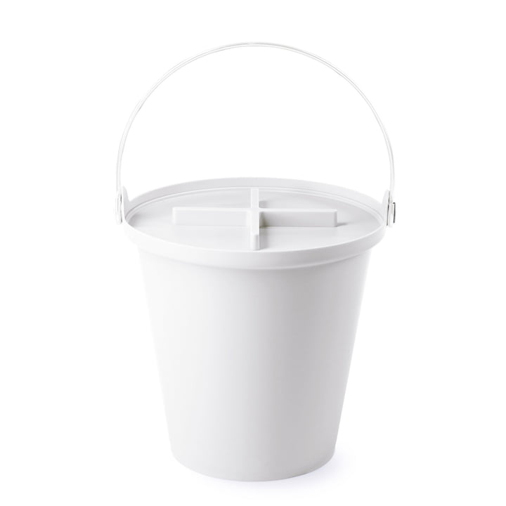 Authentics - H2O bucket, white / white