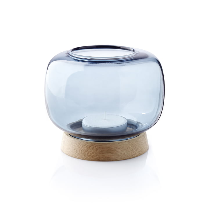 The applicata - Hurricane Tea Light Holder maxi in blue