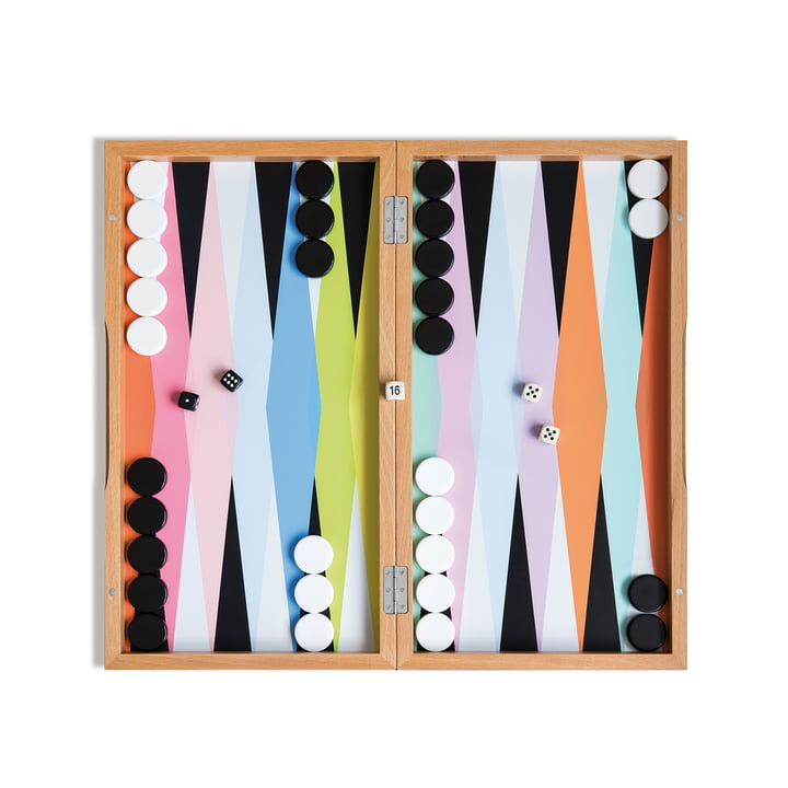 Backgammon Board Game by Remember
