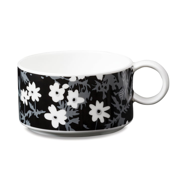 AJ Vintage Flowers porcelain teacup by Design Letters