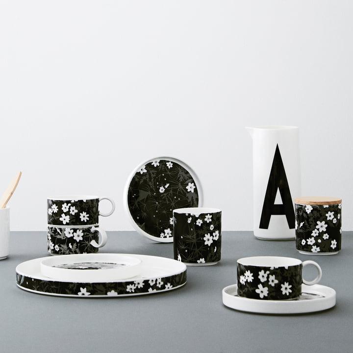AJ Vintage Flowers porcelain series by Design Letters