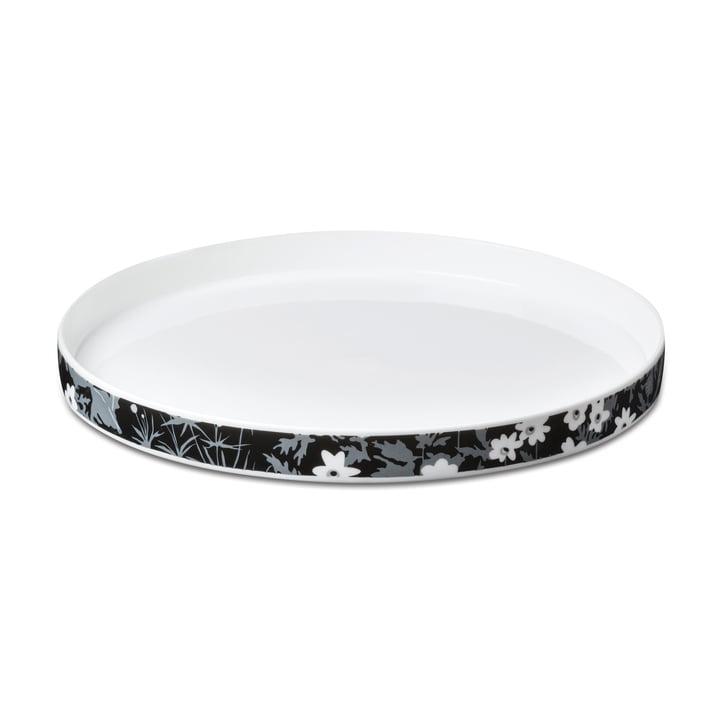 AJ Vintage Flowers porcelain plate by Design Letters