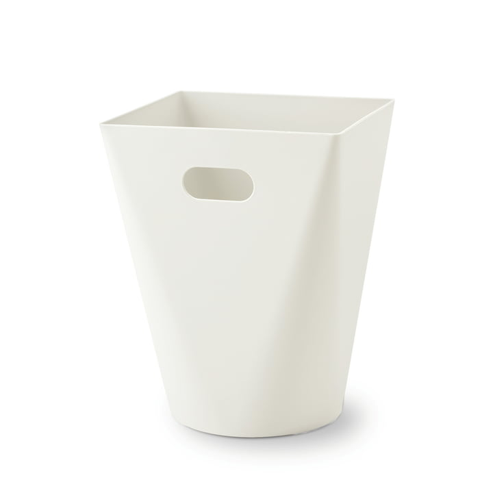 Square Midi wastebasket from Depot4Design in white