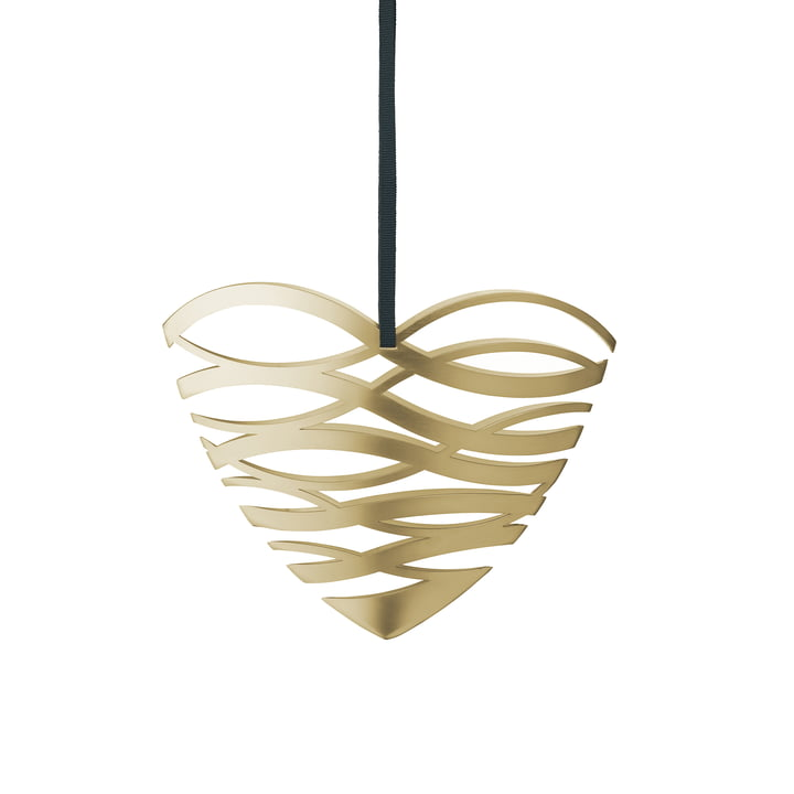 Tangle heart ornament by Stelton in small