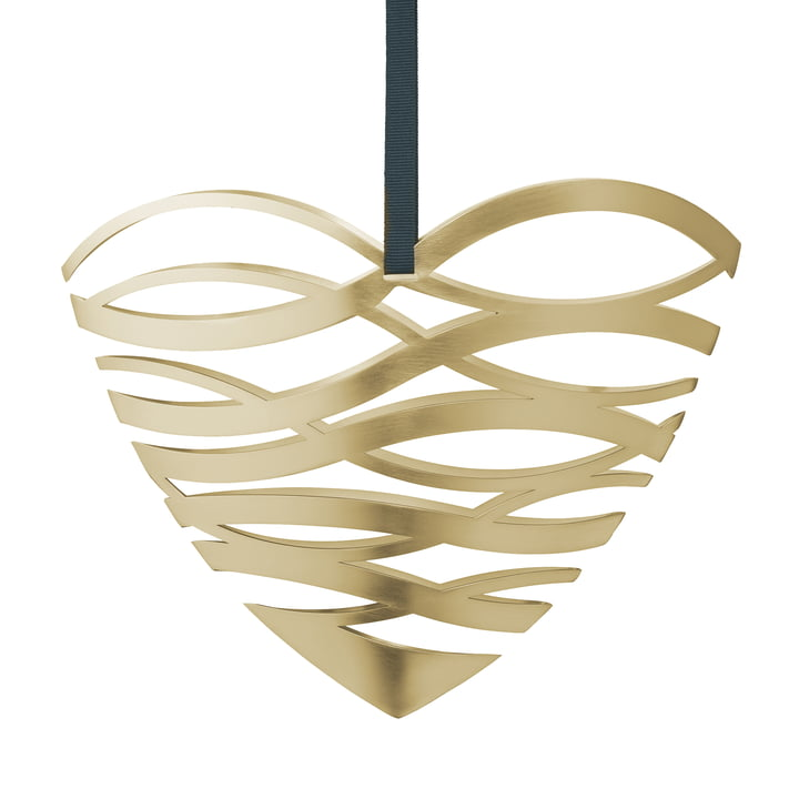 Tangle heart door decoration by Stelton