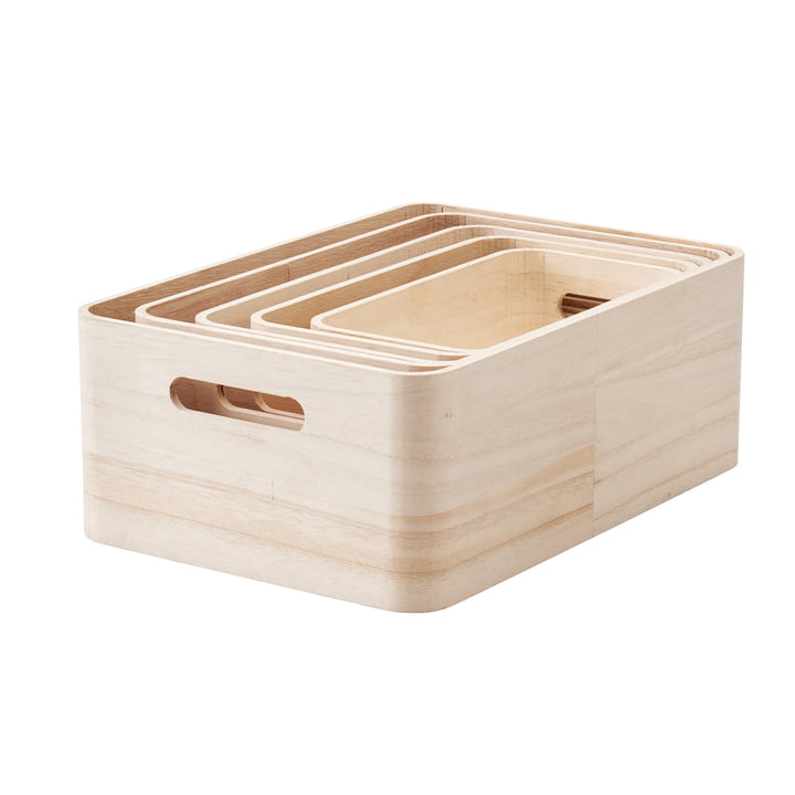 Save-It Storage Boxes 5 pcs. by Rig-Tig by Stelton