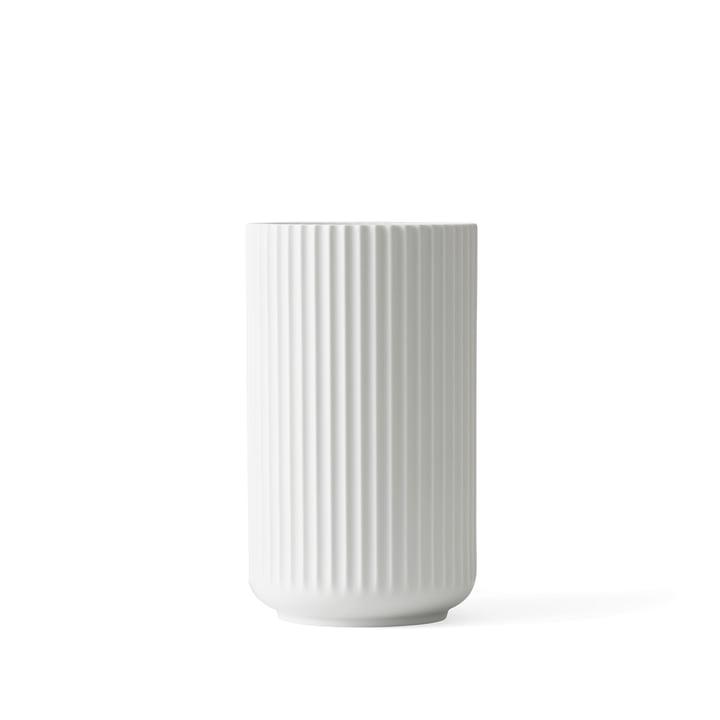 Lyngby Porcelæn - Lyngby Vase, white matte, H 12 cm