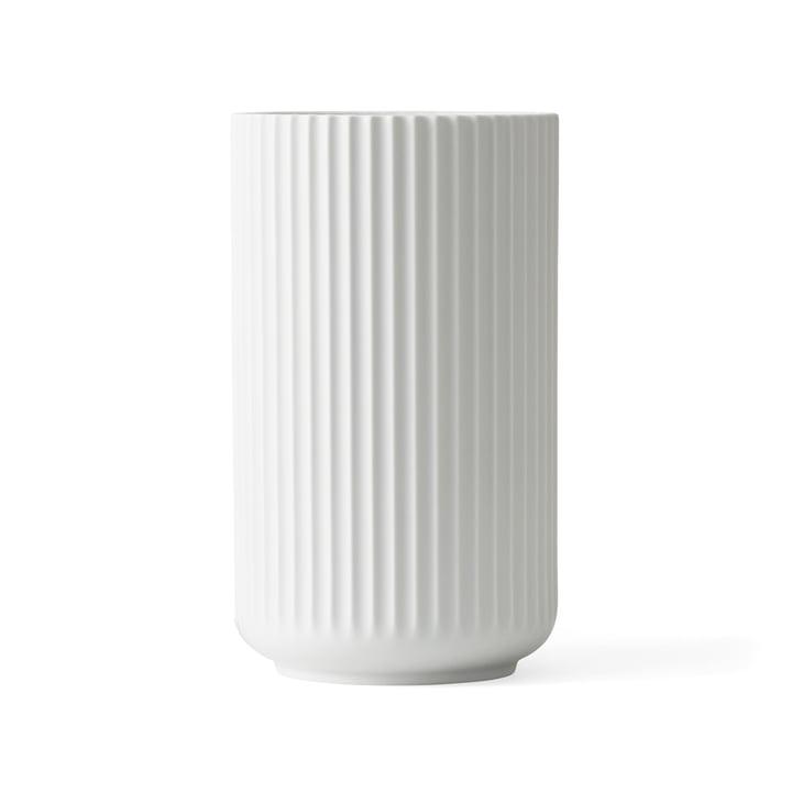 Lyngby Porcelæn - Lyngby Vase, white matte, H 25 cm