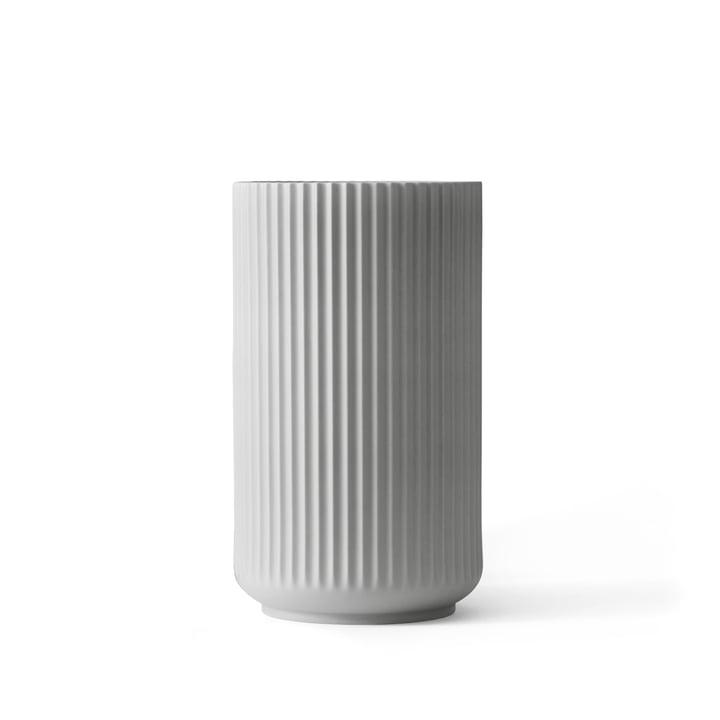 Lyngby Porcelæn - Lyngby Vase, light grey, H 15 cm