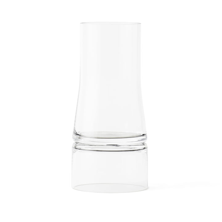 Joe Colombo vase 2-in-1 from Lyngby Porcelæn in transparent
