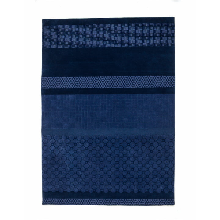 nanimarquina - Jie Rug 200x300 cm, blue