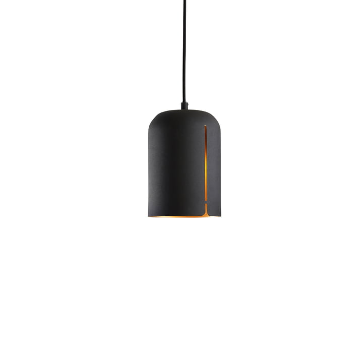 Gap pendant lamp Short by Woud in matte black