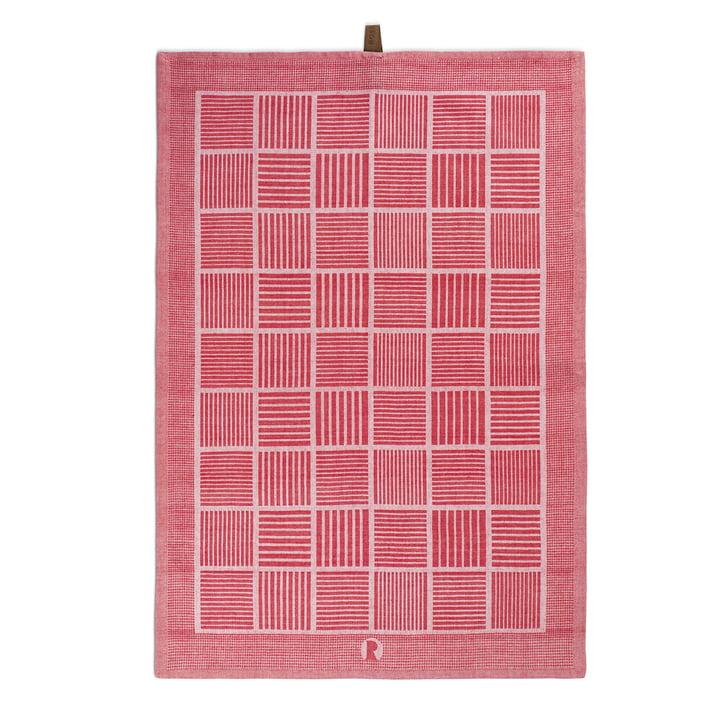 Nanna Ditzel Tea Towel 50x70 cm by Rosendahl in red