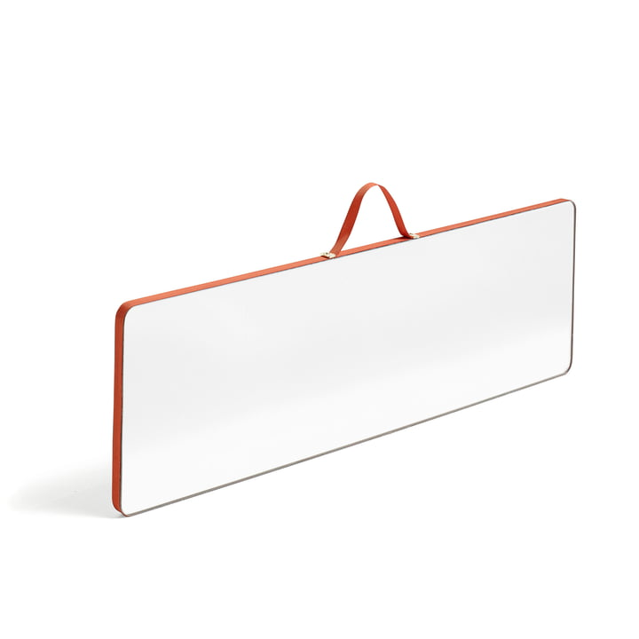Hay - Ruban Mirror rectangular L, red