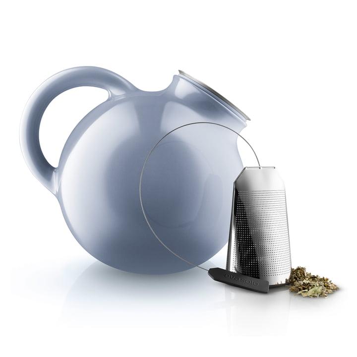 Globe teapot and tea bag by Eva Solo