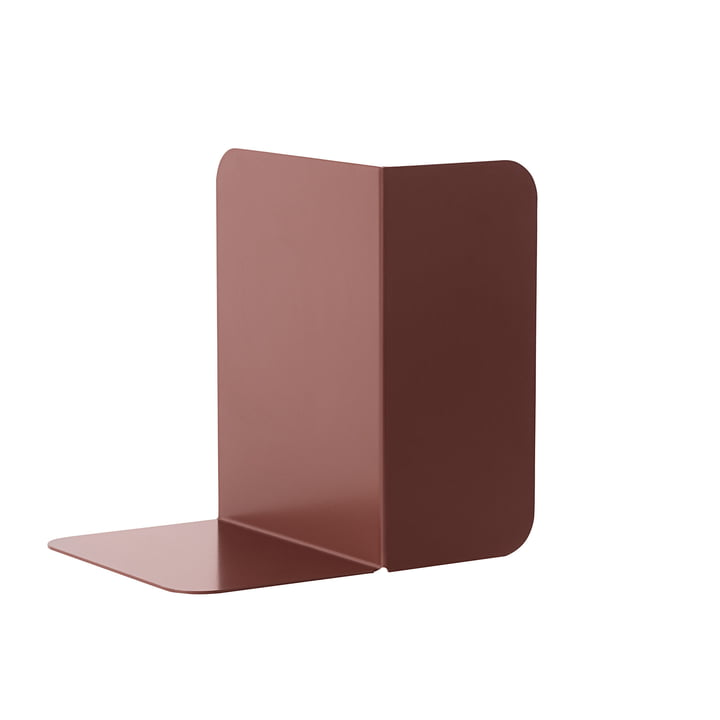 Compile Bookend by Muuto in Plum