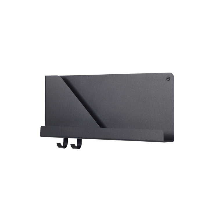 Small Folded Shelve 51 x 22 cm by Muuto in Black