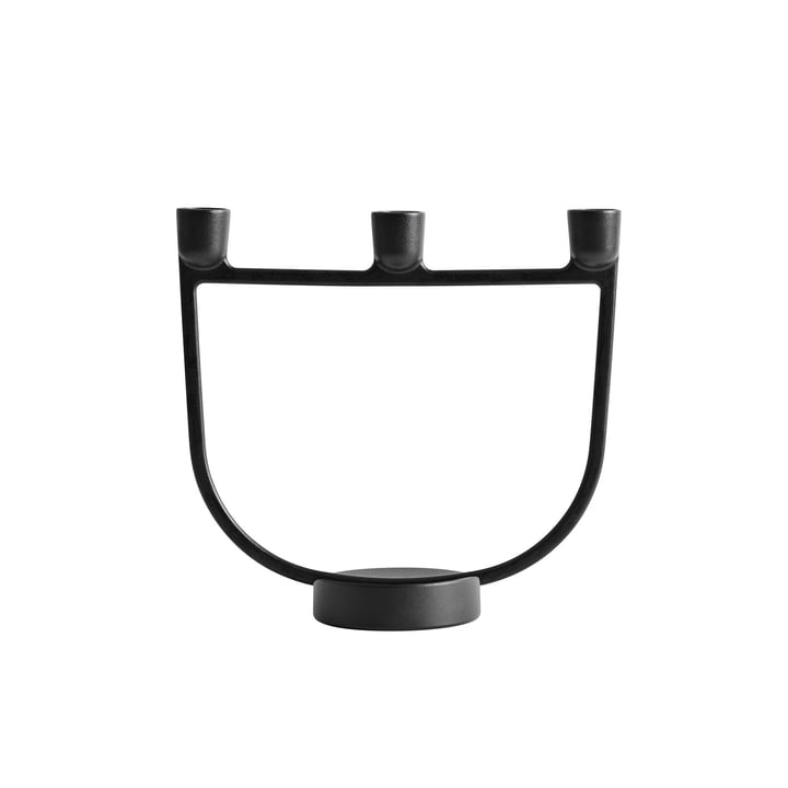Open Candle Holder by Muuto in Black