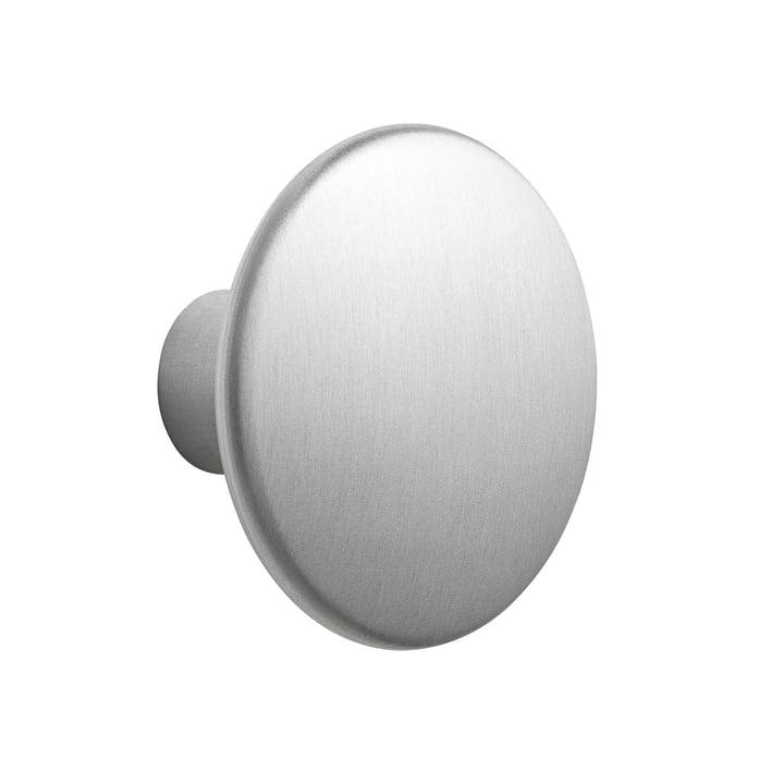 """Wall hook """"The Dots Metal"""" Single Medium by Muuto made of aluminium"""