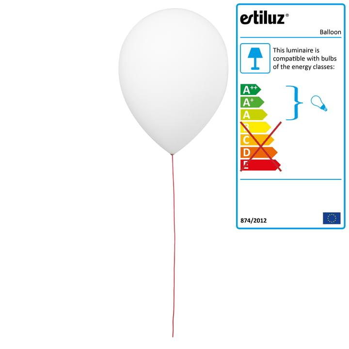 Balloon Wall Lamp by Estiluz