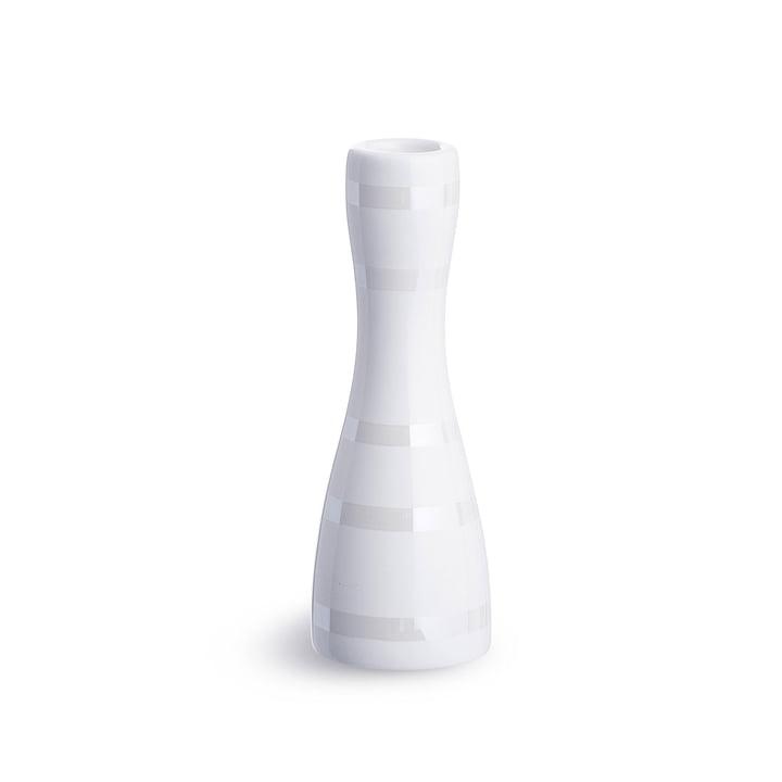 Omaggio Candleholder 16 cm by Kähler Design in nacre