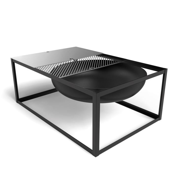 The Konstantin Slawinski - Slide Fire Bowl with Grill