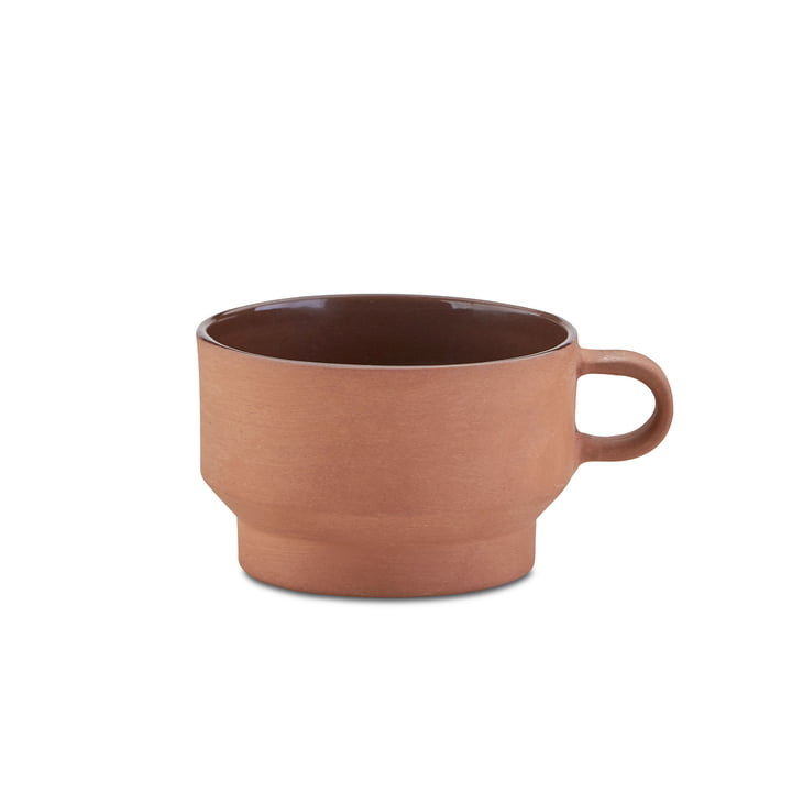 Edge Cup by Skagerak made of Terracotta