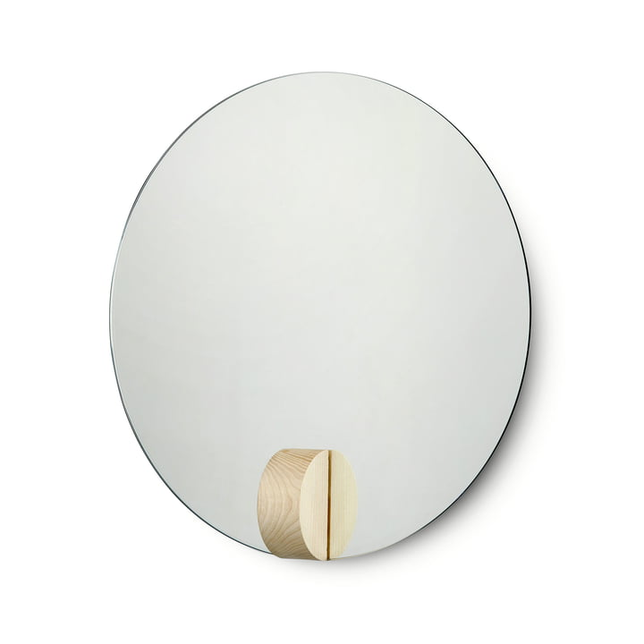 Fullmoon Mirror Ø 40 cm from Skagerak in ash wood