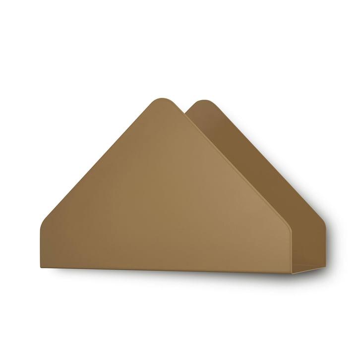 Kuvert Shelf by Skagerak in Cinnamon Brown