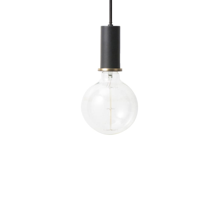 ferm Living - Socket pendant Low, black