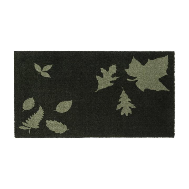 tica copenhagen - Leaf Mega Doormat, 67 x 120 cm, green