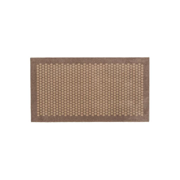 Dot floor mat 67 x 120 cm from tica copenhagen in sand